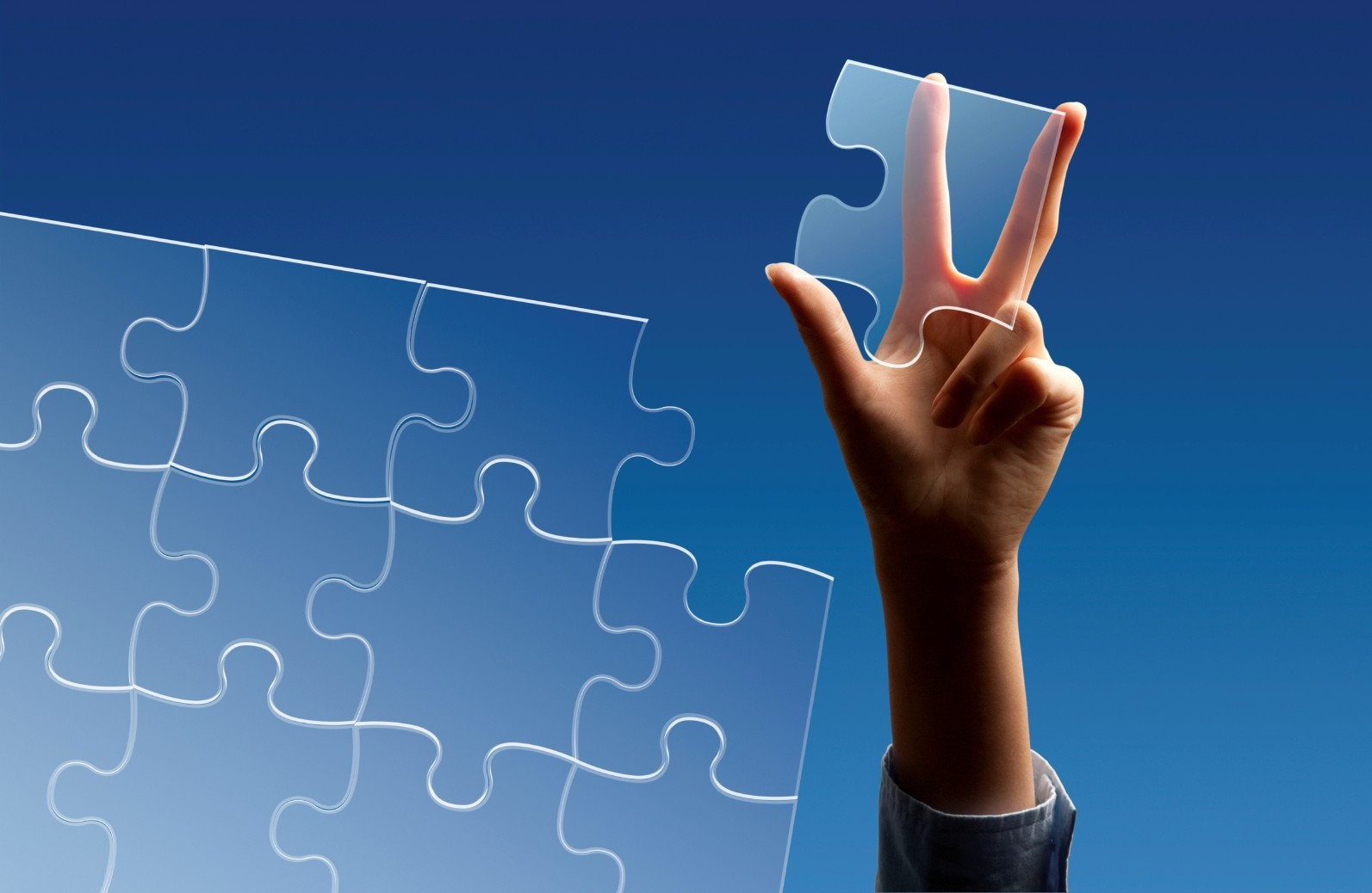 Puzzle Pieces Sky