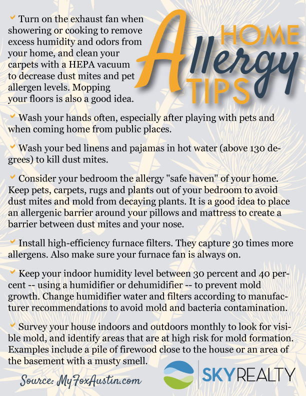 Home-Allergy-Tips